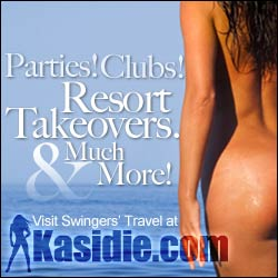 Travel Events, Resort Takeovers & More! Visit Swinger's Travel at Kasidie.com.